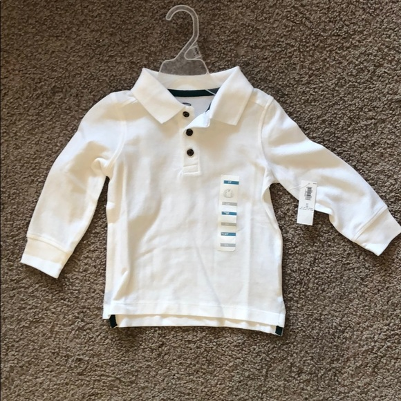 8d4c56fd1 Old Navy Shirts & Tops | Toddler Boy Long Sleeve Polo Shirt | Poshmark